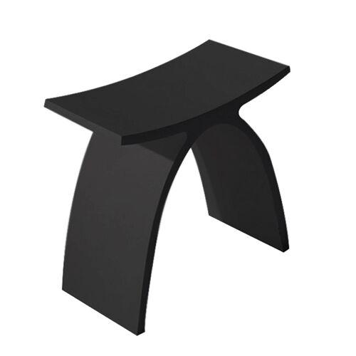 Douche Concurrent Douchekruk Solid Surface Luci Mat Zwart