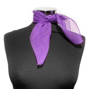Scarf Chiffon Purple