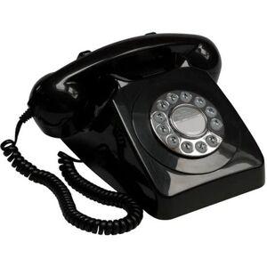 GPO Druktoets Telefoon '70 Ontwerp Zwart