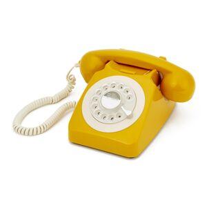 GPO Draaischijf Telefoon '70 Ontwerp Mosterd