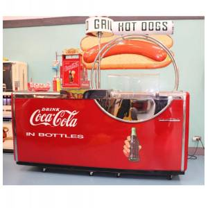 Victor Coca-Cola Kooler-Grill - DE HEILIGE GRAAL Van Coca-Cola Verzamelingen - Consignatie