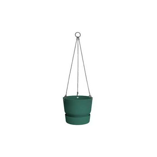 Elho greenville leaf green hanging basket