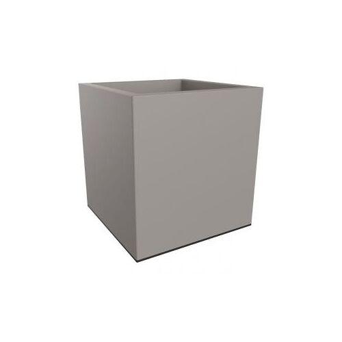 Elho Vivo 39x39x40cm vierkante plantenbak grijs