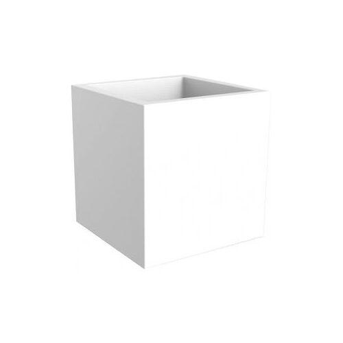 Elho Vivo 39x39x40cm vierkante plantenbak wit