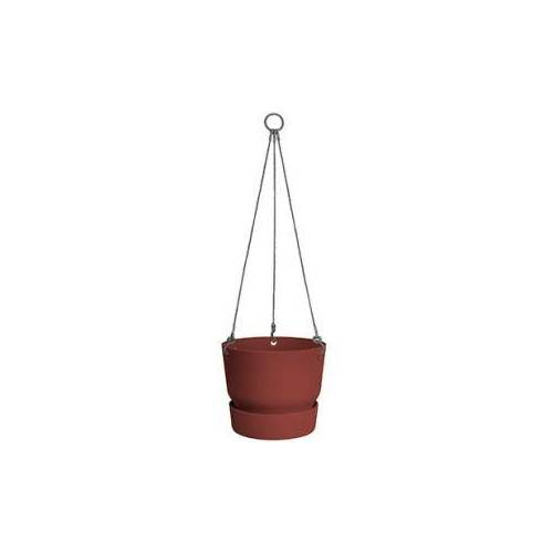 Elho greenville brique hanging basket