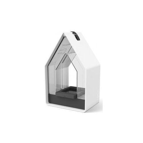 Emsa Landhaus vogel voederhuisje met silo wit