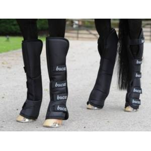 Bucas 2000 Boots Transportbeschermers  - black/black - Size: FULL