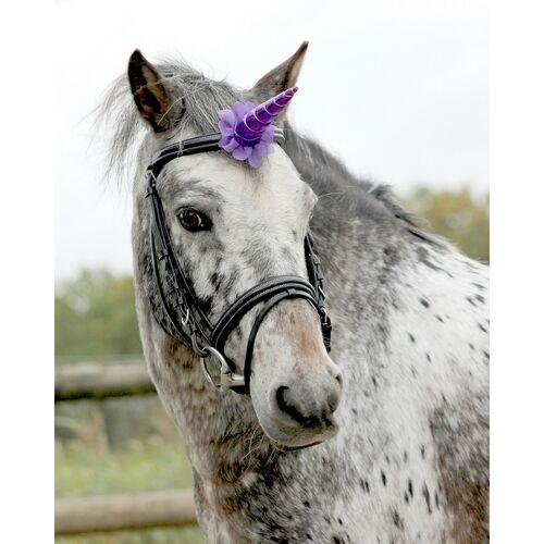 QHP Eenhoorn Hoorn  - purple - Size: ONESIZE