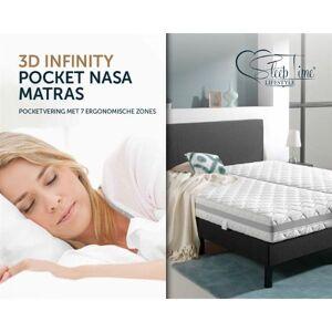Slapen Online Sleeptime matras 3D Infinity pocket NASA 80 x 200