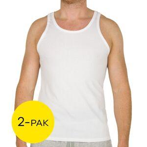 Calvin Klein hemden 2-Pak modern cotton  - Wit - Size: Large