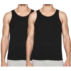 Calvin Klein hemden 2-Pak modern cotton  - Zwart - Size: Small