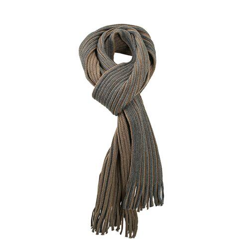 Klassieke sjaal Bruin