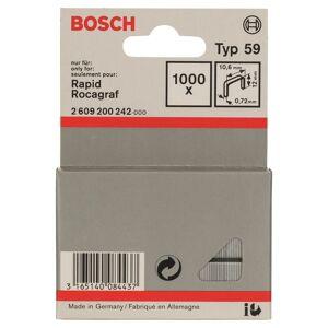 Bosch 2609200242 Type 59 Niet met fijne draad - 10,6x0,72x12mm (1000st)