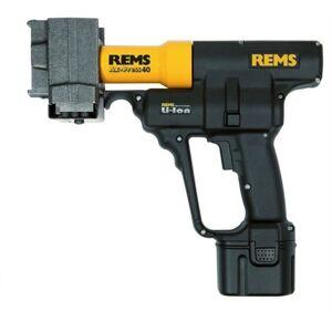 Rems Ax-Press 40 Set LR 20-22-25 14,4V Li-Ion accu Axiaal persmachine set (1x 2,2Ah accu) in koffer