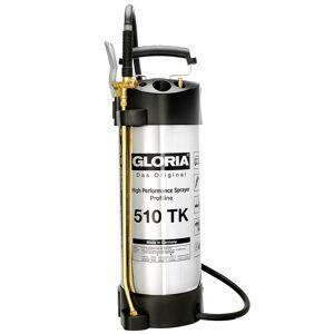 Gloria 510 TK Profiline Hogedrukspuit - Staal/RVS - Oliebestendig - 10L