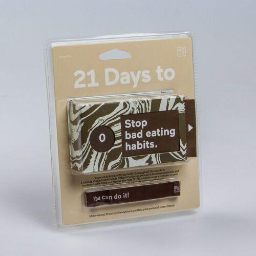 DOIY 21 Day Challenge - Stoppen Met Slechte Eetgewoontes