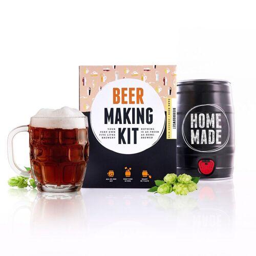 Brew Barrel Bierbrouw Pakket - Donker Bier