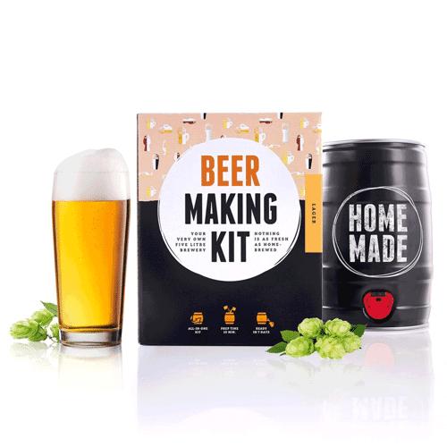 Brew Barrel Bierbrouw Pakket - Lager Bier