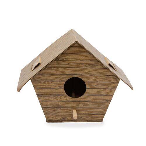 Kikkerland DIY Vogelhuisje - Boomhut