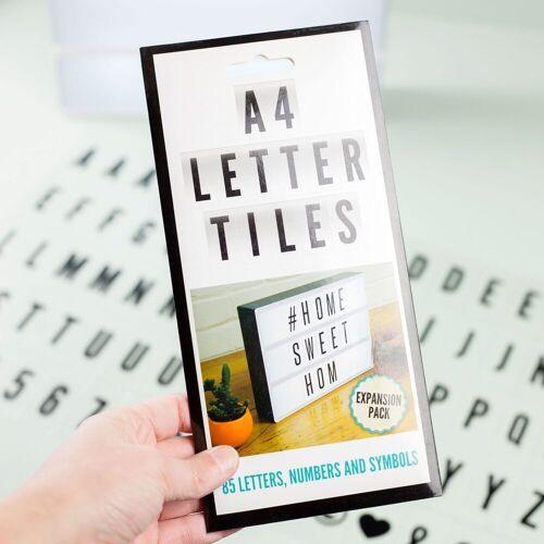 Fizzcreations Fizz Aanvullende Set Lichtbox Letters (set Van 85)