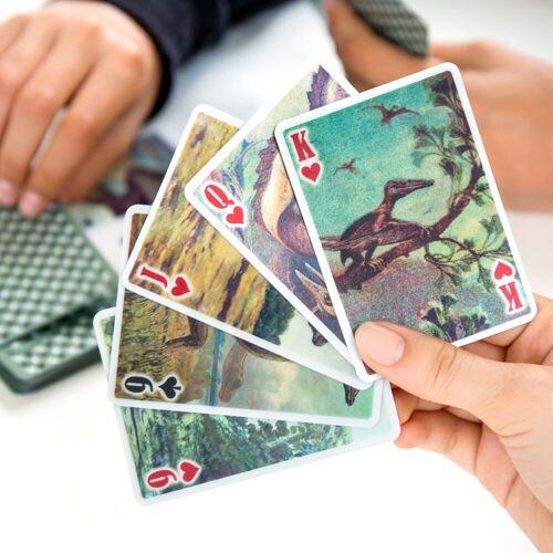 Kikkerland 3D Speelkaarten - Dinosaurussen