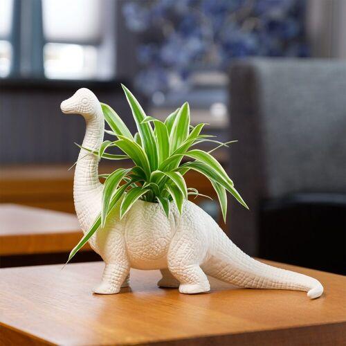 Bitten Dinosaurus Bloempot - Brachiosaurus