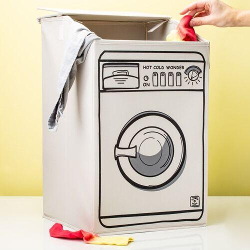 Invotis Wasmachine Wasmand - Wit