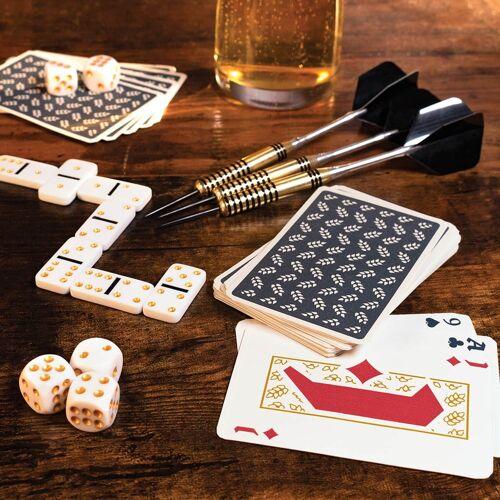 Luckies Bar-spelletjes In Een Bierblik