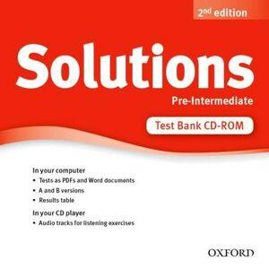 Solutions pre-intermediate test bank cd-rom