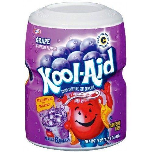 Kool Aid Kool Aid 8QT Grape 538 Gram
