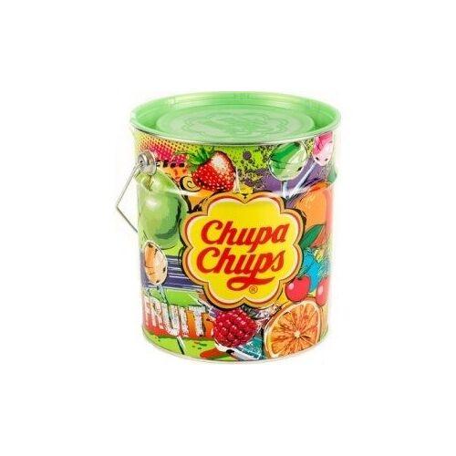 Chupa Chups Chupa Chups - Blik Fruit 150 Lolly's 6 Blikken
