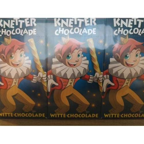 Overige Knetter Chocolade Witte Chocolade 3 x 50 Gram