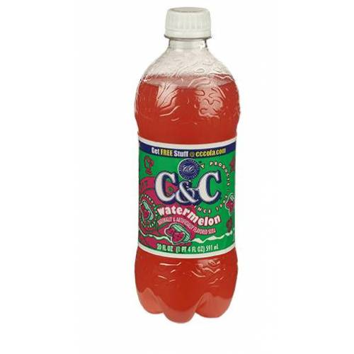 C&C Soda C&C Soda - Watermelon Bottle 710ml
