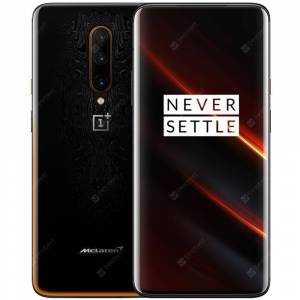 OnePlus 7T Pro McLaren Edition International Version 4G Smartphone 6.67 inch Oxygen OS Snapdragon 855 Plus Octa Core 12GB RAM 256GB ROM 3 Rear Camera 4085mAh Battery