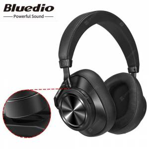 Bluedio T7 Plus Wireless Smart Bluetooth 5.0 Headphone Noise Canceling Headband AI Face Recognition
