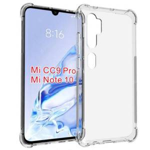 ASLING High Quality Four Corners Airbag Transparent Soft Shell Phone Case for Xiaomi Mi Note 10 / 10 Pro / CC9 Pro
