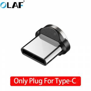 OLAF 2.4A Charger 540 Rotation Strong Magnetic Cable Micro USB Type C Cable Charger For iPhone 11 Pro XS Max Samsung Xiaomi