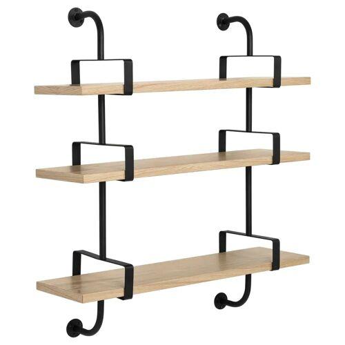 Gubi Démon plank 3 verdiepingen 95 cm Oak