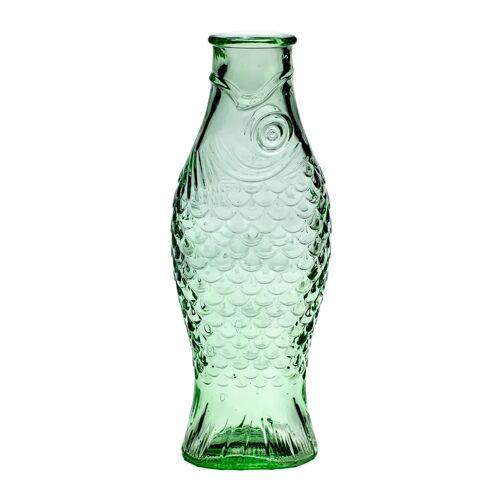 Serax Fish & Fish glazen fles 1 l Green