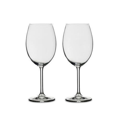 Bitz rode wijnglas 58 cl 2 st. Helder glas