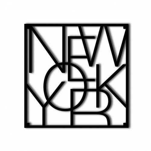 Men at Work City onderzetter New York