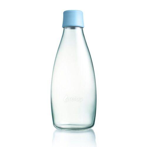 Retap waterfles 0,8 l. babyblauw