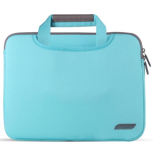 Voor 15 inch laptops duiken stof laptop handtas (blauw)