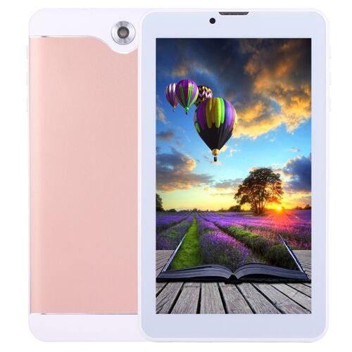 7.0 inch Tablet PC 512 MB + 8 GB 3 G telefoon bel Android 6.0 SC7731 Quad Core OTG Dual SIM GPS WIFI Bluetooth (Rose Gold)