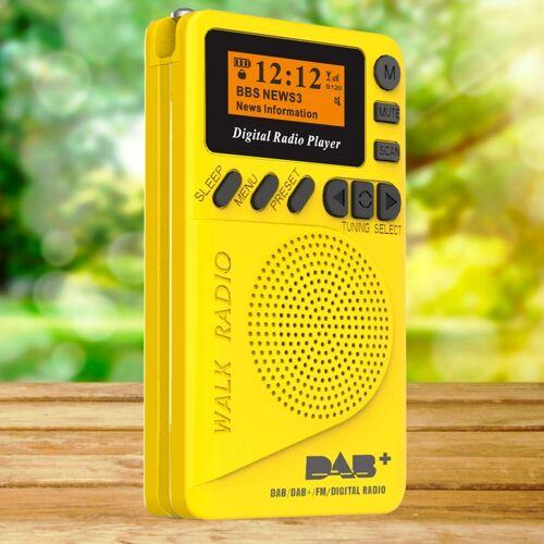 DAB-P9 Pocket Mini DAB digitale radio met MP3-speler