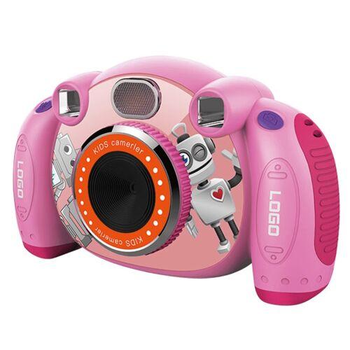 KC501 3.000.000 pixels 2 0 inch HD scherm digitale kinderen camera (roze)
