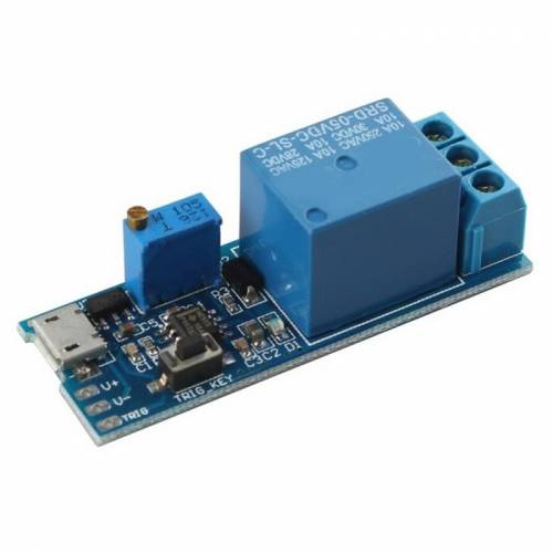 Relais Module Timer vertraging Switch DIY voor Arduino Raspberry Pi