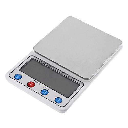MH-885 6 Kg x 0.1 g hoge nauwkeurigheid digitaal elektronisch Portable keuken schaal evenwicht apparaat met 4 5 inch LCD-scherm