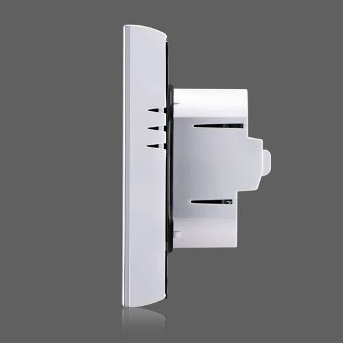 LCD Display airconditioning 2-Pipe programmeerbare kamerthermostaat voor Fan Coil Unit ondersteunt Wifi(Black)