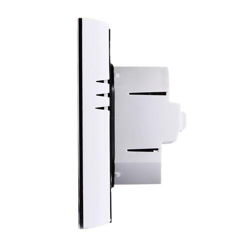 LCD Display airconditioning 2-Pipe programmeerbare kamerthermostaat voor Fan Coil Unit ondersteunt Wifi(White)